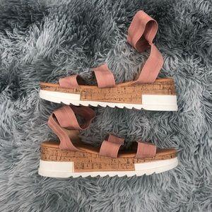 Olivia + Kate Gladiator Espadrille Platform Sandal